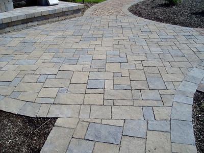 Halifax flagstone walkway by Hanover