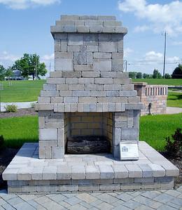 Hanover fireplace, shorter design