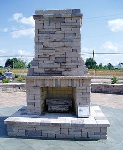 Hanover fireplace- tall design