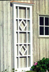 Syosset Lattice Panel Walpole Woodworkers 800-343-6948