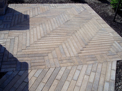 Hanover plankstone patio and walkway