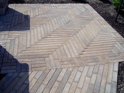 Hanover plankstone patio and walkway