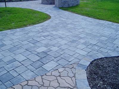 Various Hanover paver walkway examples
