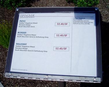 Hanover Halifax flagstone information