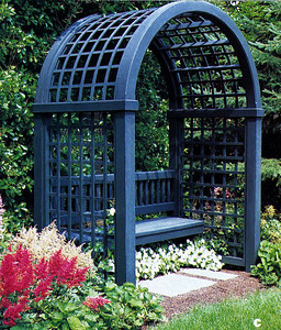 Secret Garden Arbor Walpole Woodworkers 800-343-6948