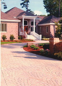 Tumbled Prest Brick in the tumbled fan pattern Hanover Architectural Products 717-637-0500