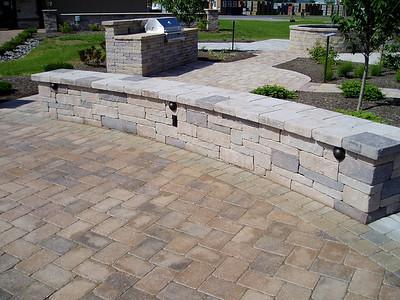 Hanover Ammons wall stone