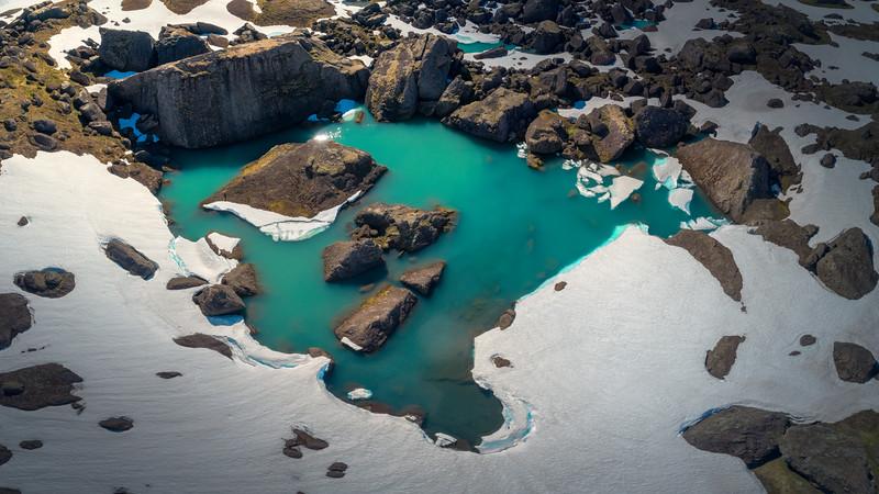 """""""Glacier pools"""""""