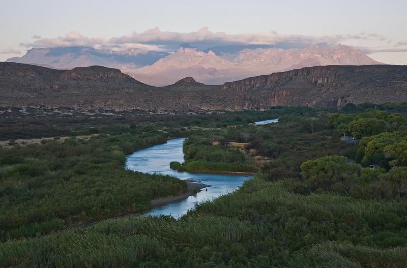 Rio Grande River, Chisos Mountains