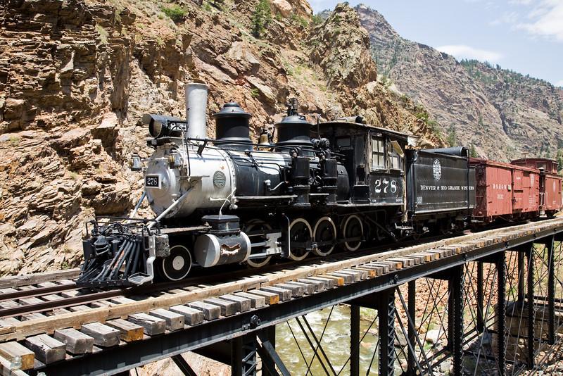 Denver & Rio Grande Steam Train