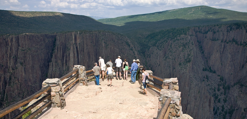 Overlook, Black Canyon of the Gunnison