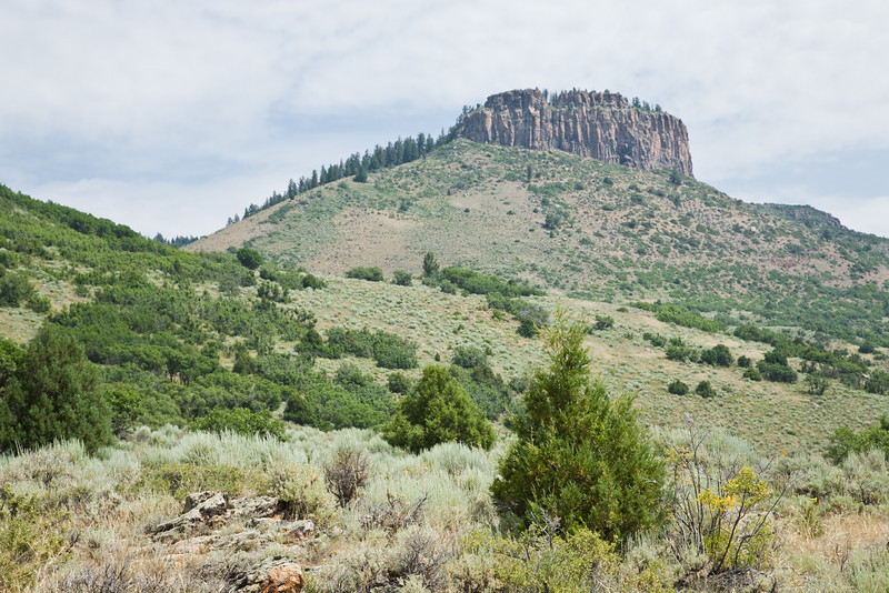 Butte, Curecenti National Recreation Area