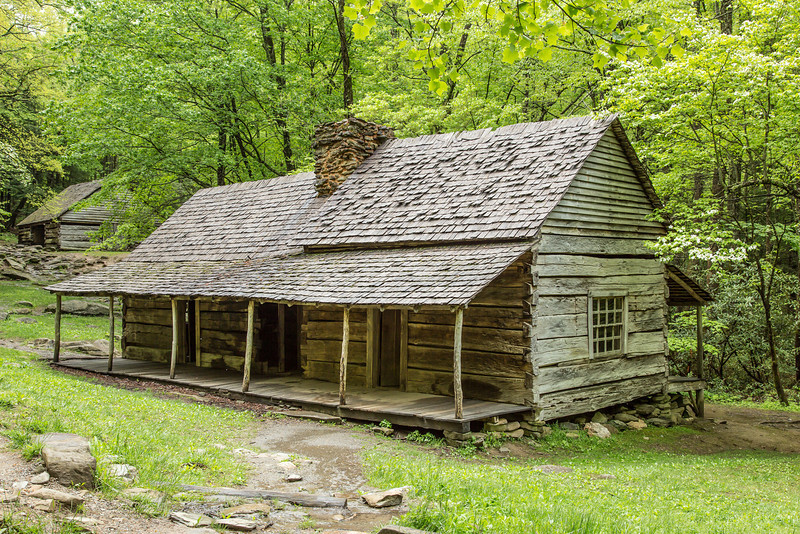 Bud Ogle cabin