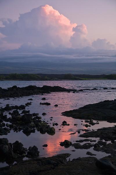 Kona sunset, Big Island