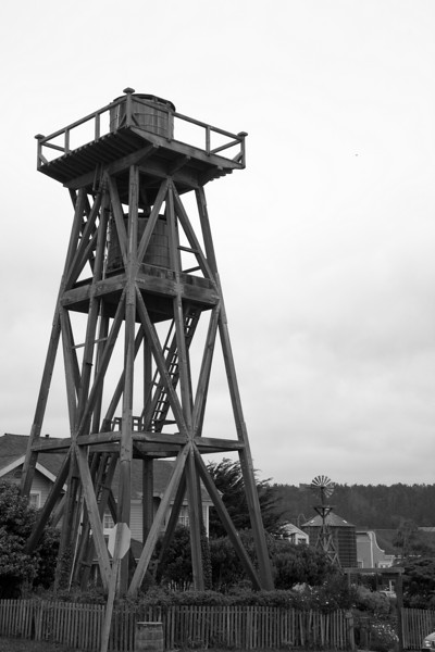 Water tower at Mendocino