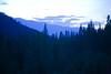 Twilight from Moose Ridge near Libby