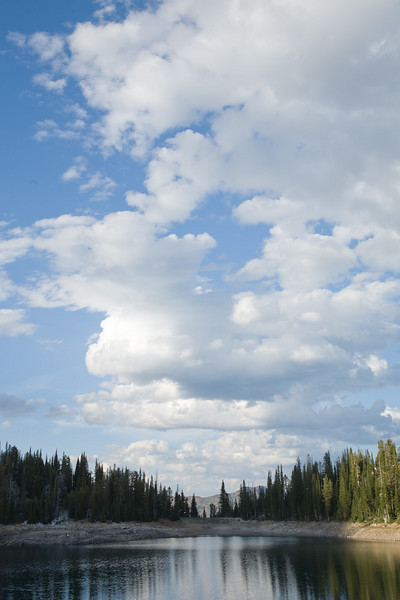 Clouds over Crater Lake