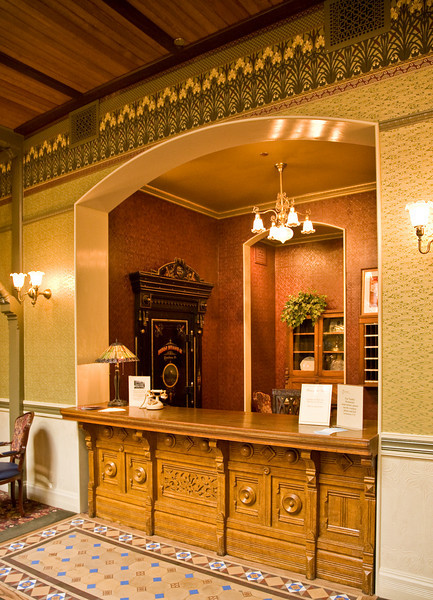 Beaumont Hotel reception