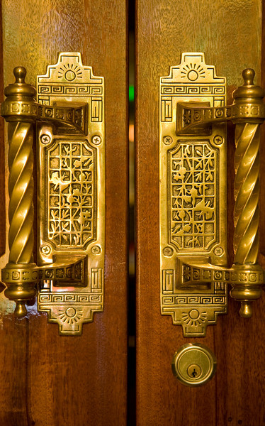 Beaumont Hotel door handles