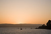 Sunset over Tomales Bay