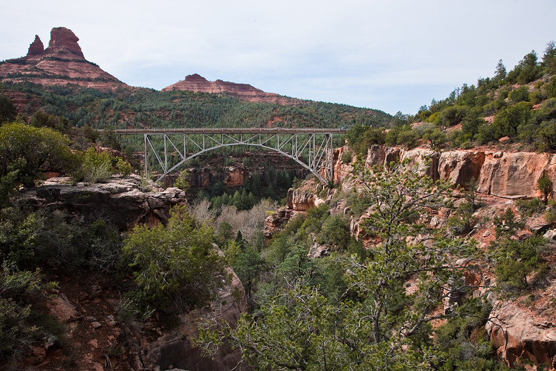 Midgely Bridge, Oak Creek Canyon