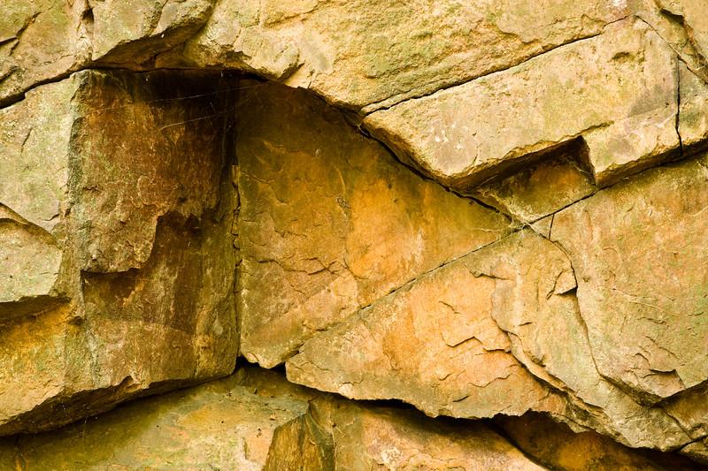 Quartzite outcrop, Hemlock Draw
