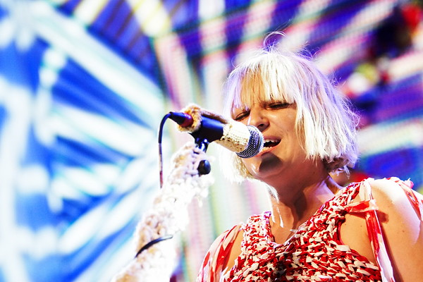 Sia performing live at Roundhouse in Camden, London on her 'We Meaning You' tour. 27th May, 2010.