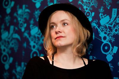 Ane Brun portrait taken at O2 Shepherd's Bush Empire, London. 28th April 2012.