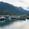 Skagway and harbor