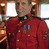 Retired RCMP officer and storyteller aboard our cruise ship