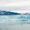 Hubbard Glacier at Yakutat Bay is 6 miles across at its face
