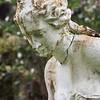 Broken statue, Magnolia Plantation