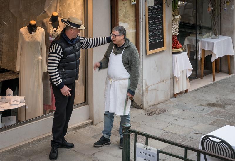 Gondoleer and restauranteer