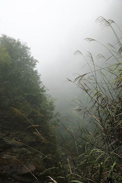 Foggy valley, Cat Cat Hmong village