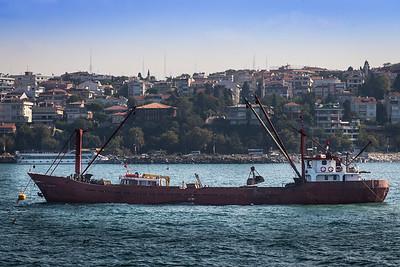 Boat on the Bophorus