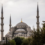 Blue mosque, late afternoon