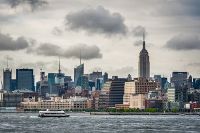 New York City Views from The Cirle Line, June 13 2012.