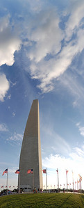 Vertical Panorama of the Washington Monument View the full version here: http://photos.kevinworkman.com/Pictures/2011/i-84MzZBM/0/O/WashingtonMonumentPanorama2.jpg