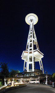 Vertical panorama of the space needle. View the full version here: http://photos.kevinworkman.com/Pictures/2011/i-Xfn6KN4/1/O/SpaceNeedlePanorama12.jpg