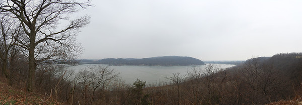Panorama at Chickies Rock in Pennsylvania