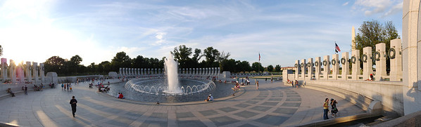 World War Two Memorial Panorama, Take Two View this one full screen: http://photos.kevinworkman.com/Pictures/2011/i-rV9nGR9/0/O/WorldWarTwoMemorialPanorama2.jpg