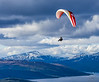 Paragliding beyond the Arctic Circle