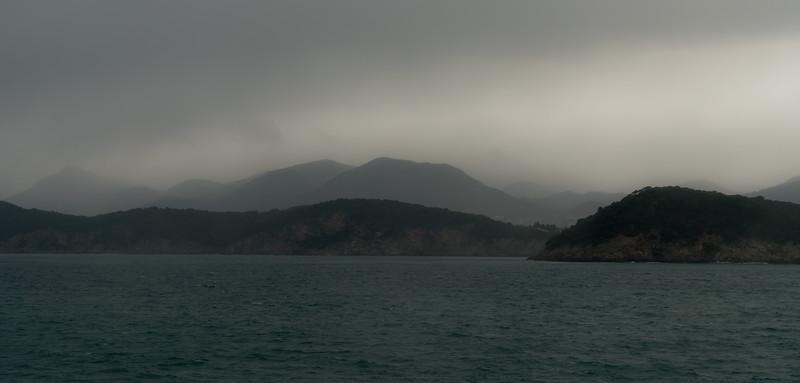 Approaching Dubrovnik