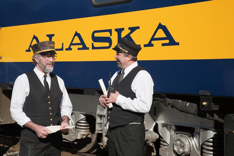 Alaska Railroad conductors