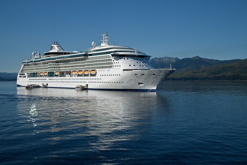Radiance of the Seas, our cruise ship from Sweard to Vancouver