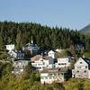 Ketchikan homes on hillside