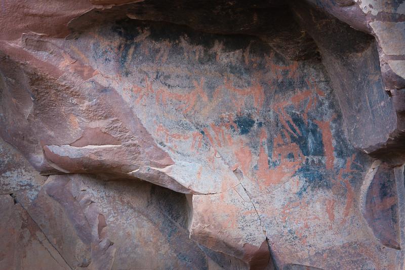 Pictographs, Honanki ruins, Sedona