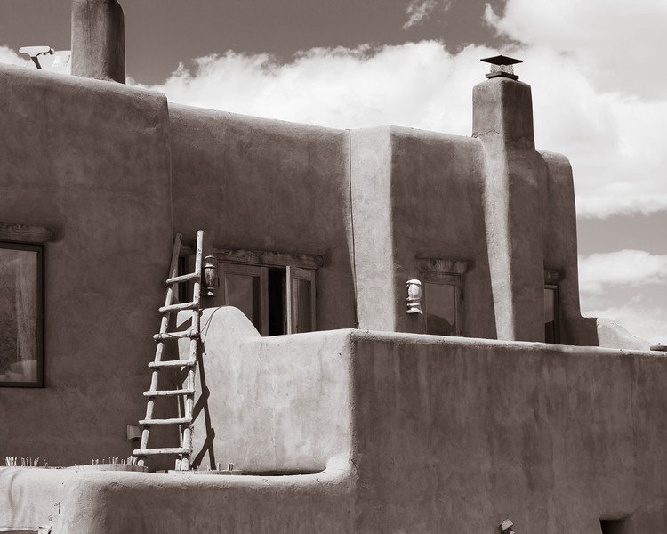 Ladder, The Pink Adobe, Santa Fe