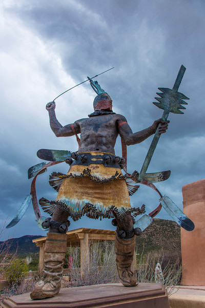 Apache Dancer, Museum Hill, Santa Fe