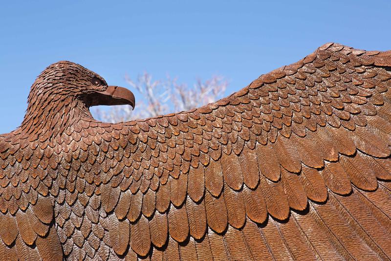 Eagle sculpture, Inn and Spa at Loretto, Santa Fe